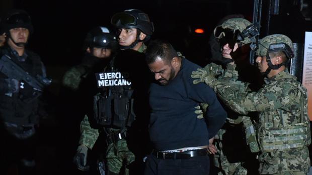 Militares trasladan a Jorge Iván Gestelum Ávila, hombre de confianza de «El Chapo», en 2016