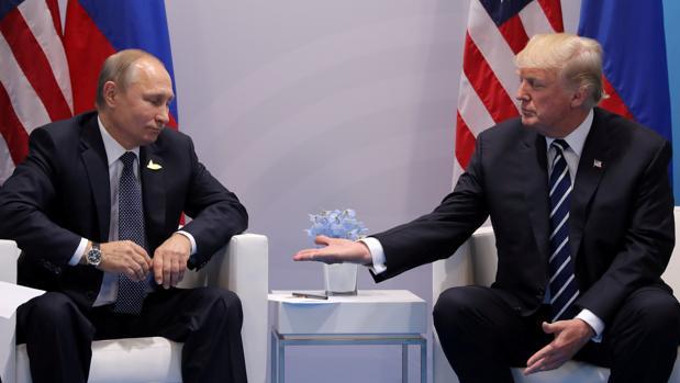Vladimir Putin y Donald Trump, el pasado año en Hamburgo durante la cumbre del G-20