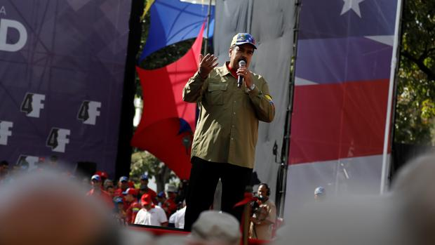 Nicolás Maduro, en la conmemoración del 26 aniversario del fallido golpe de Estado de Hugo Chávez de 1992