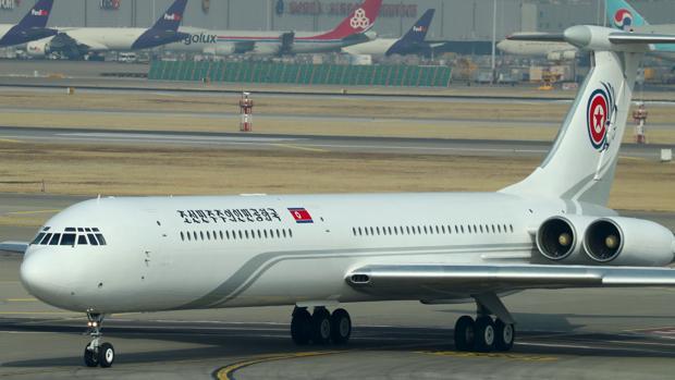 La delegación norcoreana ha aterrizado en Corea del Sur