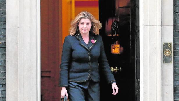 La ministra británica de Cooperación Internacional, Penny Mordaunt