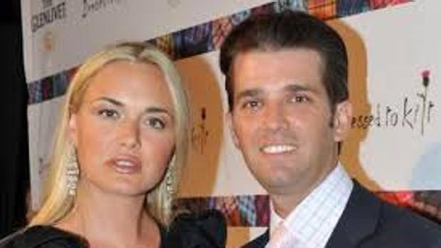 Vanessa y Donal Trump Jr.