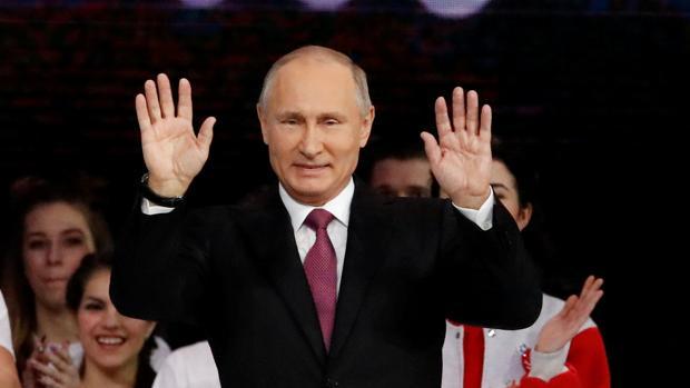 El presidente Vladímir Putin