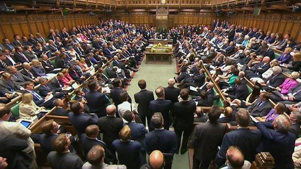 Imagen de archivo del parlamento británico