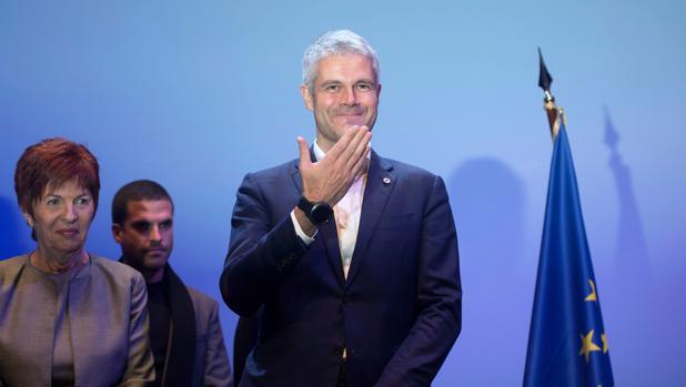 Laurent Wauquiez, durante un acto celebrado en diciembre AFP PHOTO / BERTRAND LANGLOIS