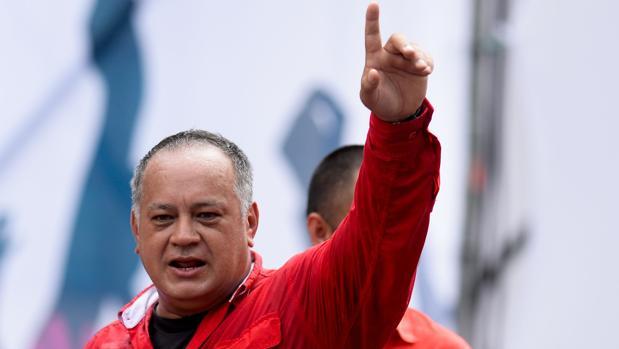 Diosdado Cabello, número dos del régimen chavista, en una imagen de archivo