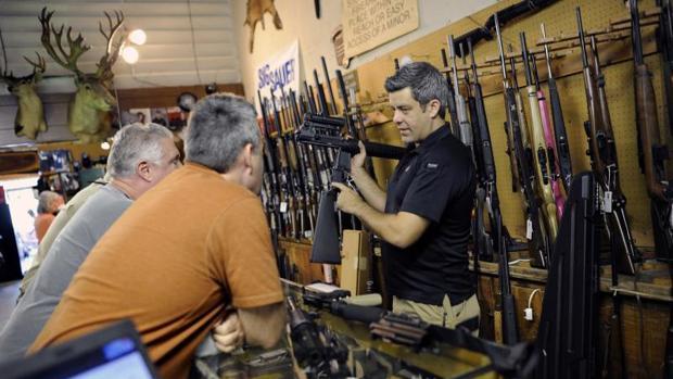 Una tienda de armas de Sarasota (Florida)
