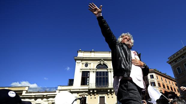 El populista Beppe Grillo