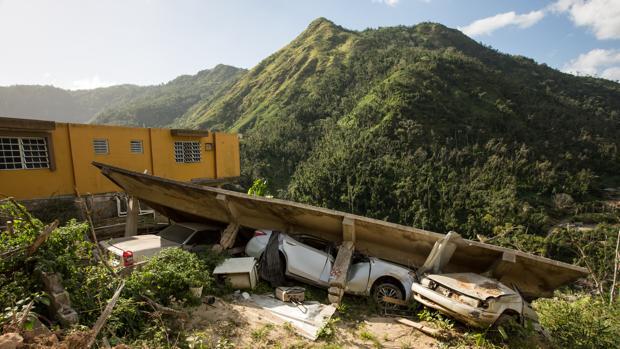 Medio año después, la huella del huracán sigue presente en Puerto Rico