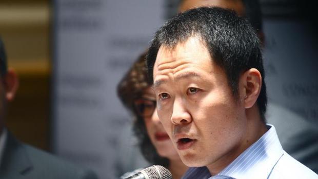 Kenji Fujimori anuncia la creación de su partido, Cambio 21, el pasado 31 de enero