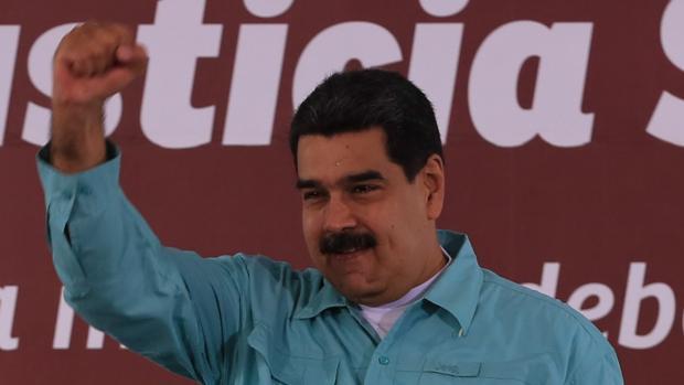 Foto de archivo del presidente venezolano Maduro