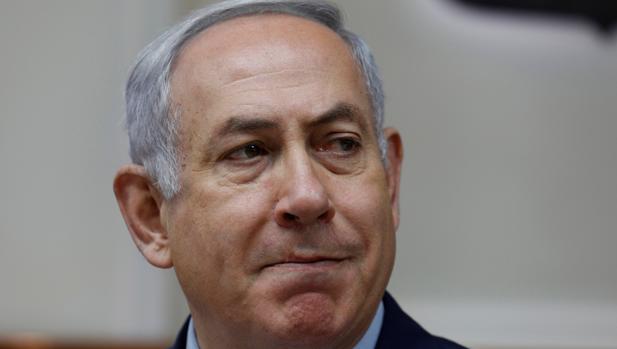 Netanyahu, en una reunión con su Gabinete
