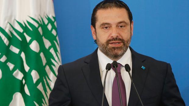 El primero ministro libanés, Saad Hariri