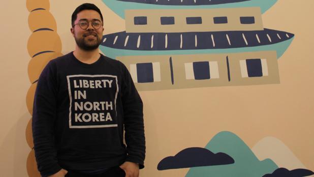 Sokeel Park, de la ONG LINK (Liberty in North Korea) y coautor de «La Generación Jangmadang»