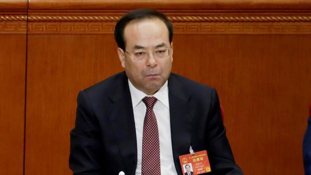 EL exsecretario general del Partido Comunista chino Sun Zhengcai