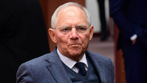 El presidente del Bundestag, Wolfgang Schäuble