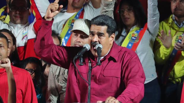 Nicolás Maduro, tras conocer el resultado de las últimas elecciones