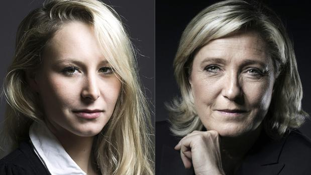 Marion Maréchal y su tía, Marine Le Pen