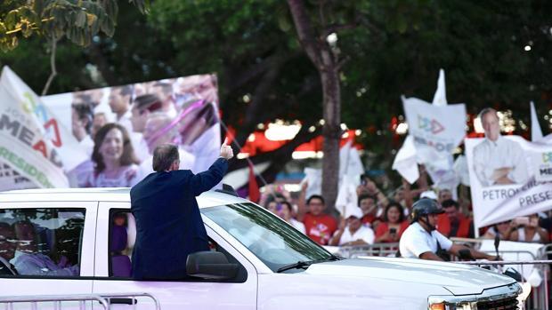 El candidato a la Presidencia de México, el oficialista del PRI José Antonio Meade