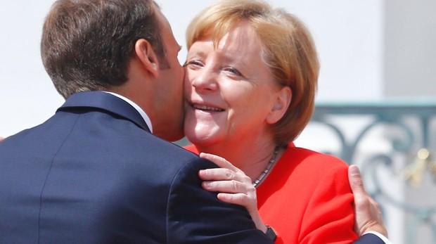Merkel y Macron hallan una «buena solución» para Europa