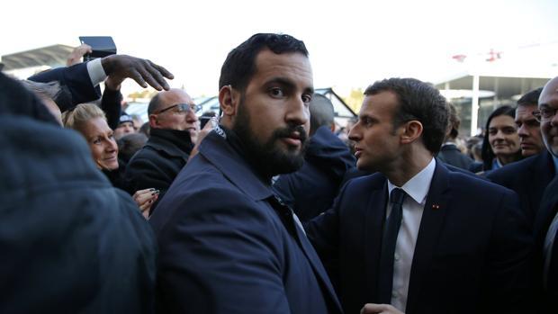 El escándalo del guardaespaldas enfanga al «emperador» Macron