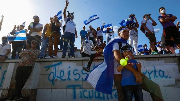 Los nicaraguenses salen a manifestarse