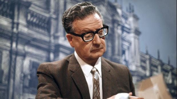 Salvador Allende, presidente chileno, el 30 de abril de 1971