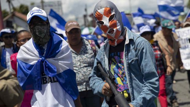 La opositora Alianza Cívica vuelve a la calle contra Ortega