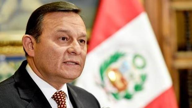 El canciller de Perú, Néstor Popolizio