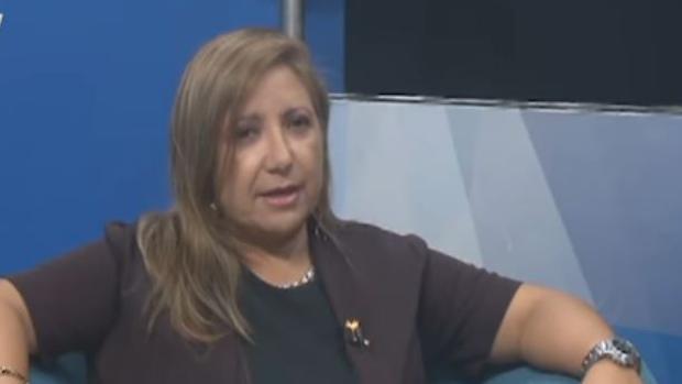La periodista Sebastiana Barraez