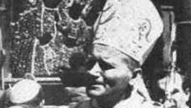 El cardenal Wojtyla en los actos de Chestokowa en 1966