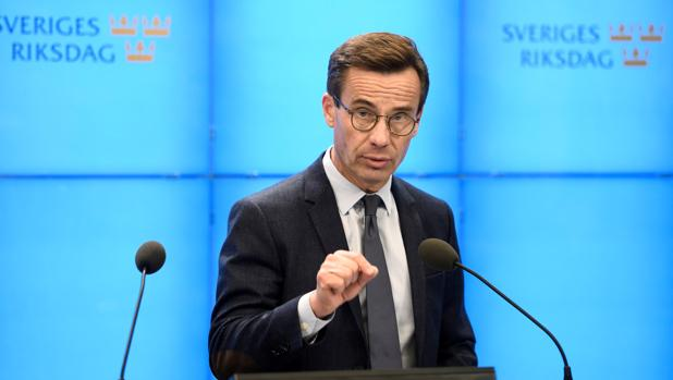 El conservador Kristersson pide ser investido primer ministro de Suecia con los votos de la derecha radical