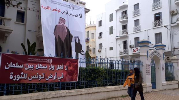 Túnez organiza la primera protesta del mundo árabe contra Mohamed Bin Salman