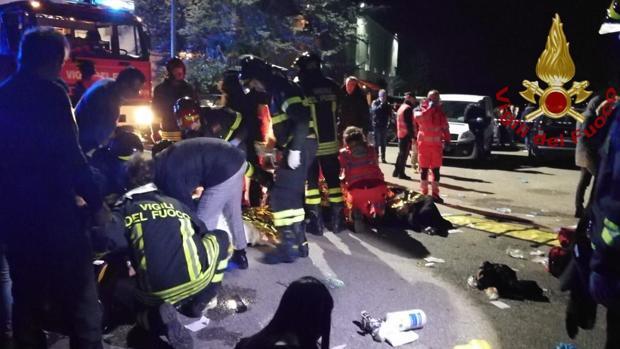 Al menos seis muertos y 60 heridos en una estampida en un concierto en Italia