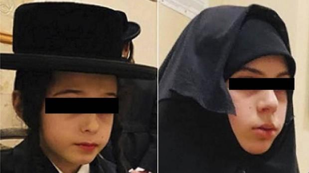 Los dos menores secuestrados por la secta judía ultraortodoxa Lew Tahor
