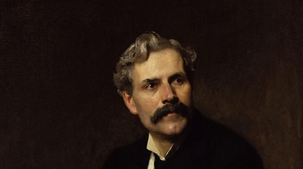 El primer ministro Ramsay MacDonald's, retratado en 1911 por Solomon Joseph Solomon