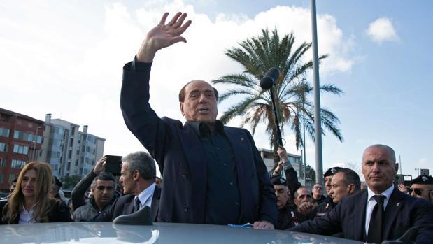 Silvio Berlusconi, este jueves de visita en Monserrato