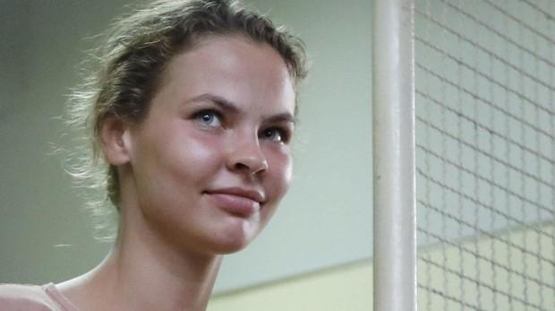 La estrambótica modelo bielorrusa Anastasía Vashukévich