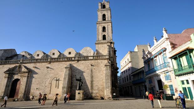 Basílica menor del Convento de San Francisco de Asís, en La Habana, convertida en sala de conciertos