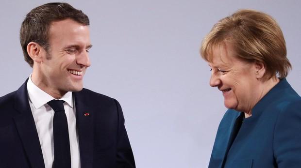 Merkel y Macron firman un tratado de resistencia a los nacionalismos y populismos