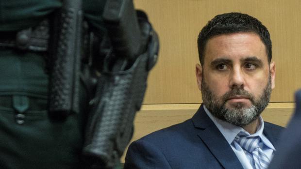 El español Pablo Ibar, la semana pasada durante el juicio