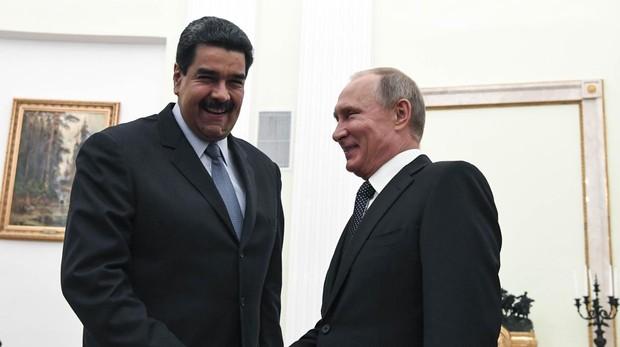 Maduro con Putin, durante una visita al Kremlin en octubre de 2017
