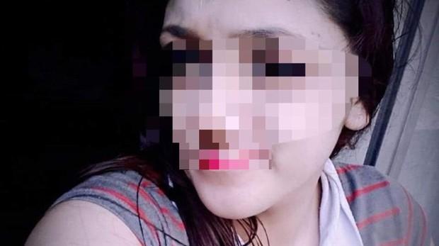Supuesta imagen de la joven, difundida por las redes sociales