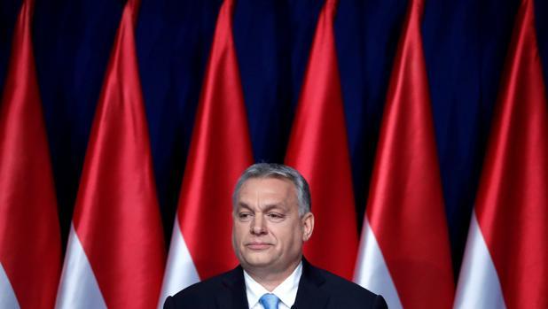 Viktor Orban, durante su discurso de la nación