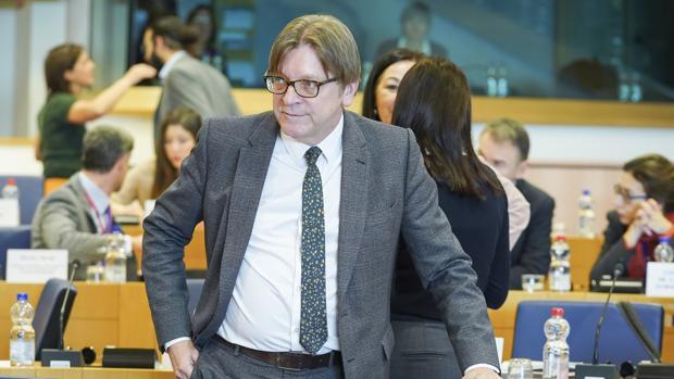 Guy Verhofstadt, líder de ALDE
