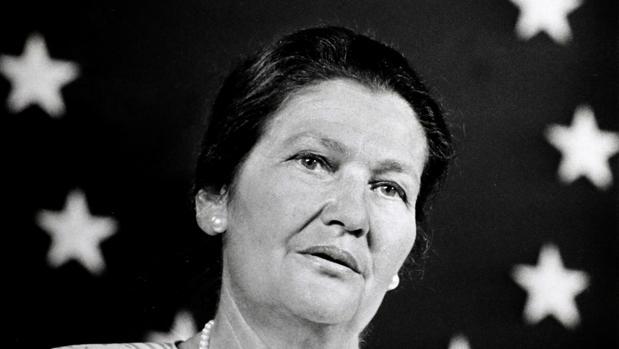 Simone Veil, primera presidenta del Parlamento Europeo
