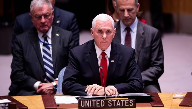 Mike Pence interviene ante el Consejo de Seguridad de la ONU
