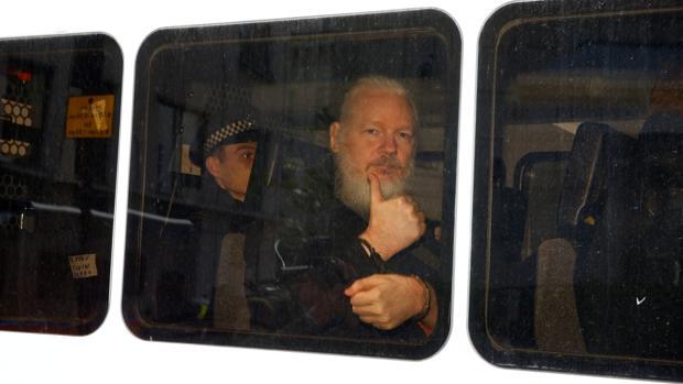 El fundador de Wikileaks