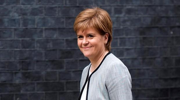 La ministra principal de Escocia, Nicola Sturgeon