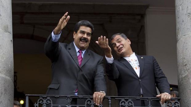 Guaidó confirma que Rafael Correa viajó recientemente a Venezuela